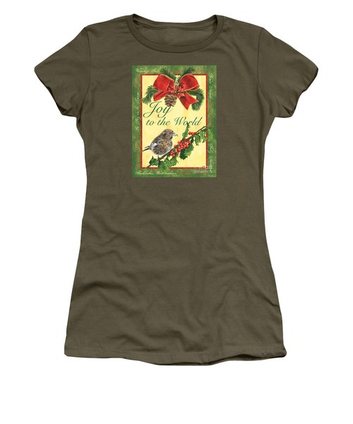 Xmas Around The World 2 Women's T-Shirt (Athletic Fit)