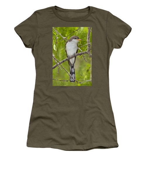 Yellow-billed Cuckoo Women's T-Shirt (Athletic Fit)