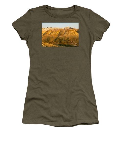 Yellow Mounds Overlook Badlands National Park Women's T-Shirt
