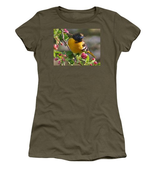 Young Male Oriole Women's T-Shirt (Athletic Fit)
