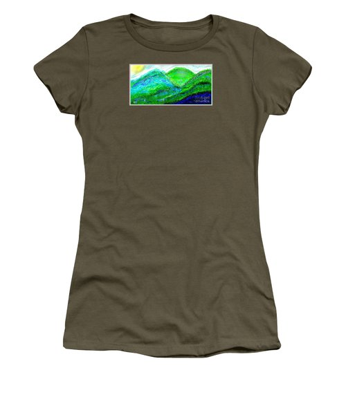 Van Gogh Sunrise Women's T-Shirt (Athletic Fit)
