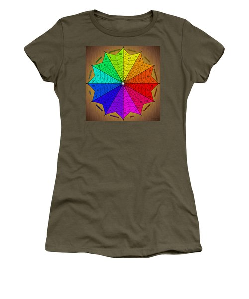 Zodiac Color Star Women's T-Shirt (Athletic Fit)