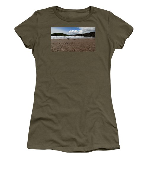 Beenbane Beach Women's T-Shirt (Junior Cut) by Barbara Walsh