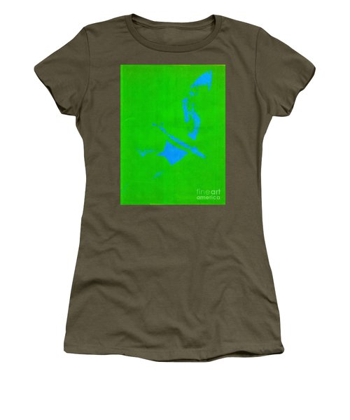 No Limits In Green Women's T-Shirt (Athletic Fit)