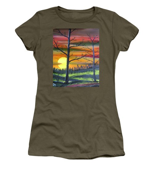 Spring Sunrise Women's T-Shirt
