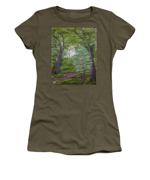 Summer Morning Women's T-Shirt (Athletic Fit)