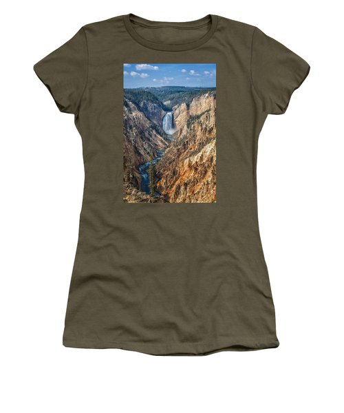 Yellowstone Lower Falls Women's T-Shirt
