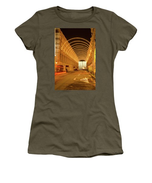 Red Square In Moscow At Night Women's T-Shirt