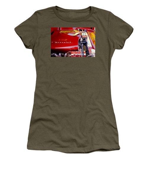 1955 Chevy Bel Air Custom Women's T-Shirt