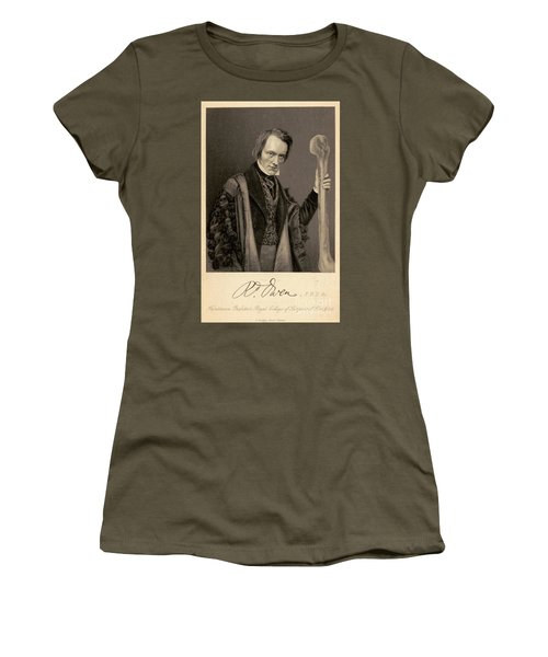 Richard Owen, English Paleontologist Women's T-Shirt