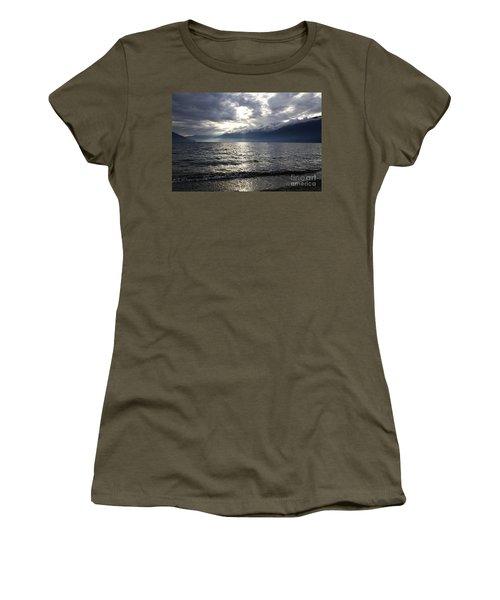 Sunlight Over A Lake Women's T-Shirt