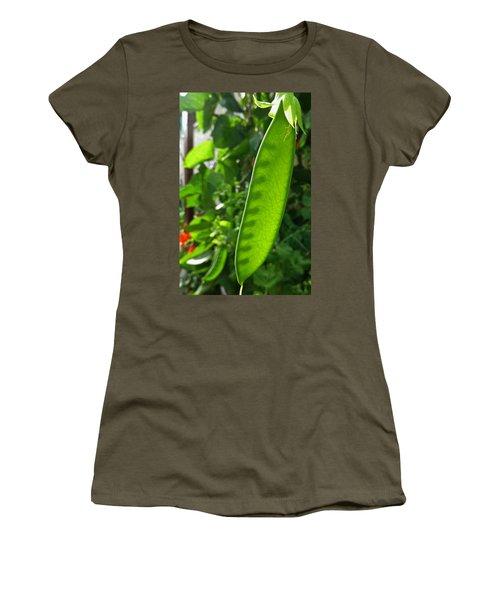 Women's T-Shirt (Junior Cut) featuring the photograph A Green Womb by Steve Taylor