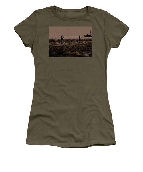A Lot Goin' On Women's T-Shirt (Junior Cut) by Lydia Holly