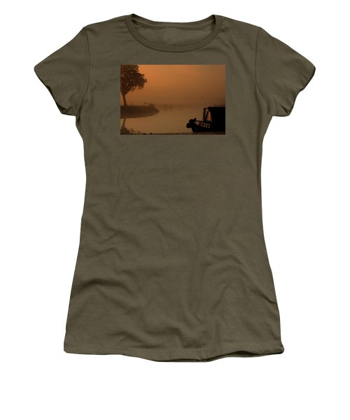 Women's T-Shirt (Junior Cut) featuring the photograph A Nice Place by Linsey Williams