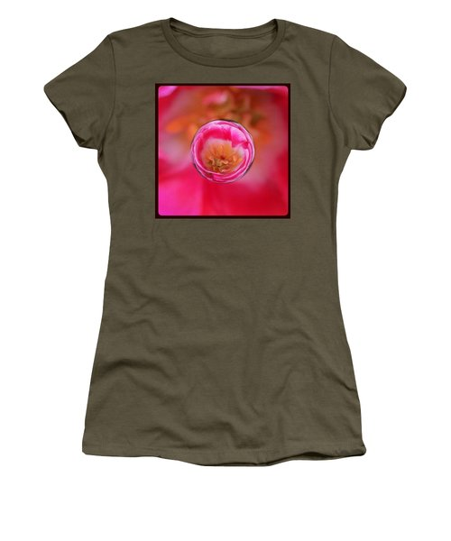 A Tiny Perfect Tulip In A Marble Women's T-Shirt