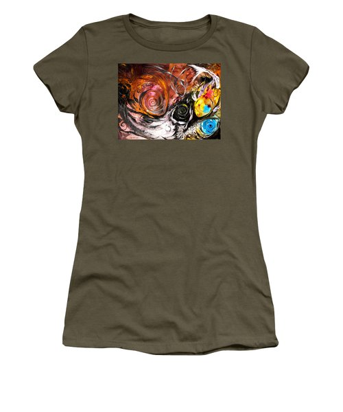 Anewed Antypityped Five Fish Women's T-Shirt