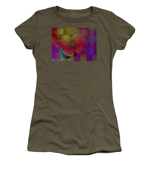 Women's T-Shirt (Junior Cut) featuring the photograph Apple Of My Eye by David Pantuso