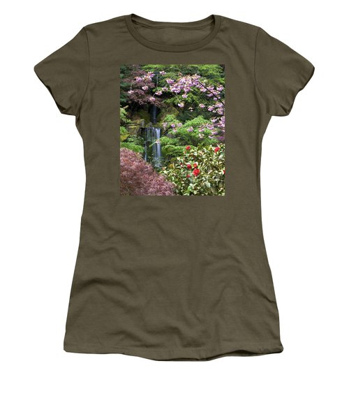 Arching Cherry Blossoms Women's T-Shirt