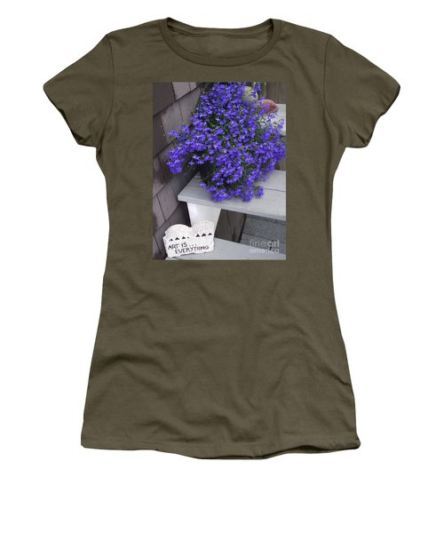 Art Is Everything Women's T-Shirt (Athletic Fit)