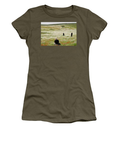 At Lachish's Magical Fields Women's T-Shirt