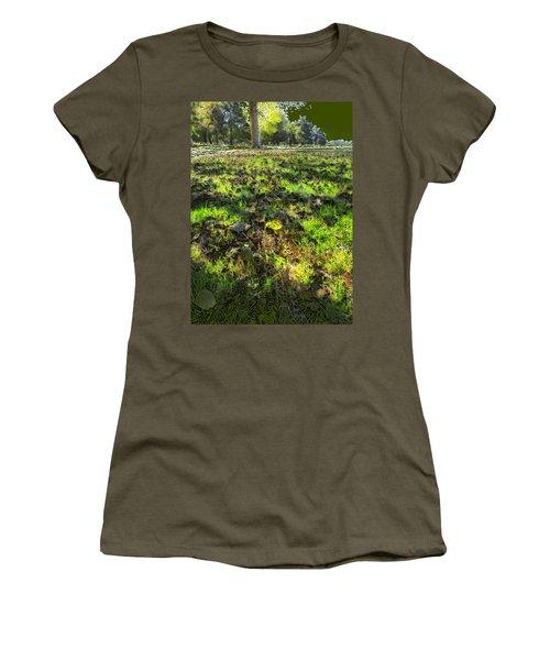 Autumn Colors Women's T-Shirt (Junior Cut) by Anne Mott