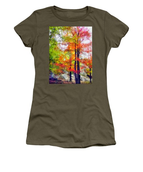 Autumnal Rainbow Women's T-Shirt