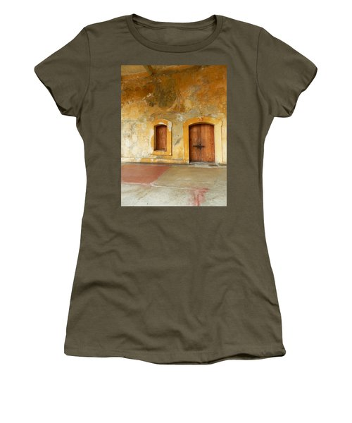 Bar The Doors Women's T-Shirt (Athletic Fit)