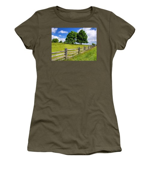 Beautiful Virginia Pasture Women's T-Shirt