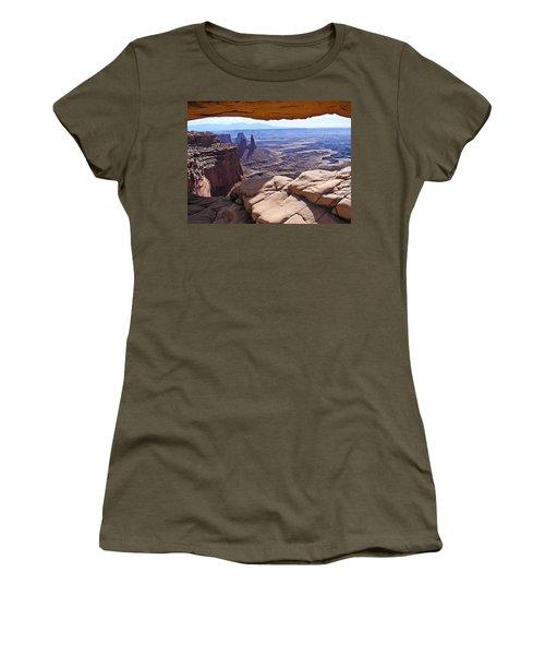 Beauty Through An Arch Women's T-Shirt