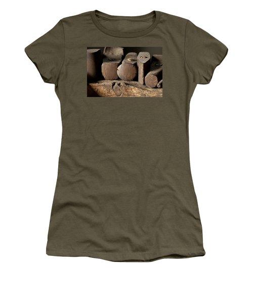 Blacksmith  Hammers Women's T-Shirt (Junior Cut) by Wilma  Birdwell