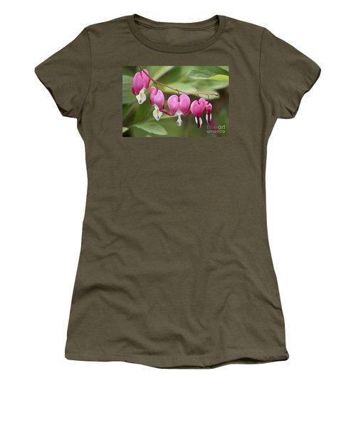 Bleeding Hearts Women's T-Shirt