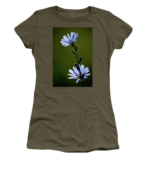 Blue Wildflower Women's T-Shirt