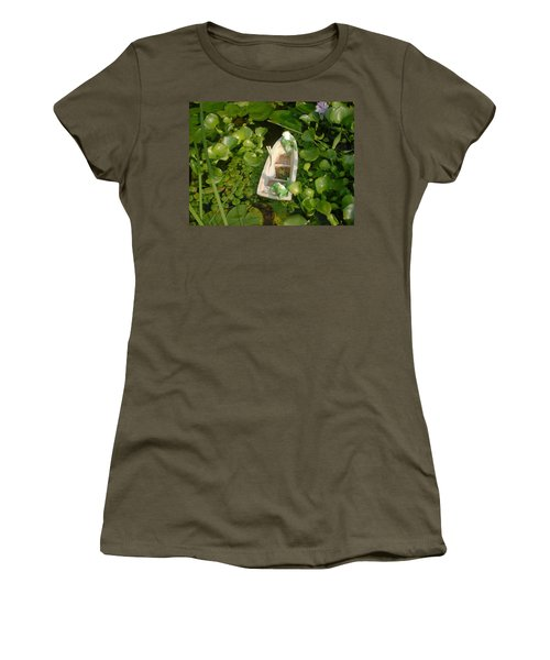 Women's T-Shirt (Junior Cut) featuring the photograph Boating With Friends by Bonfire Photography