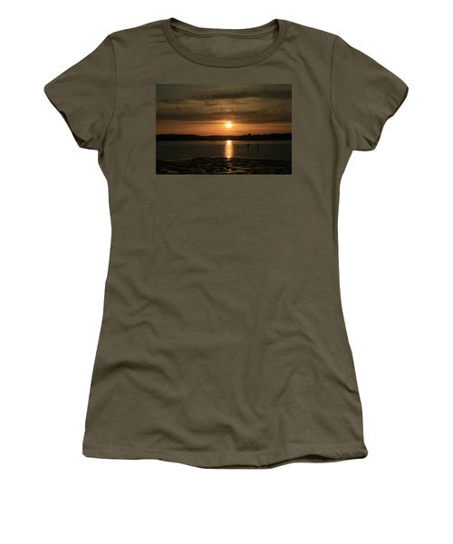 Bodega Bay Sunset II Women's T-Shirt (Athletic Fit)