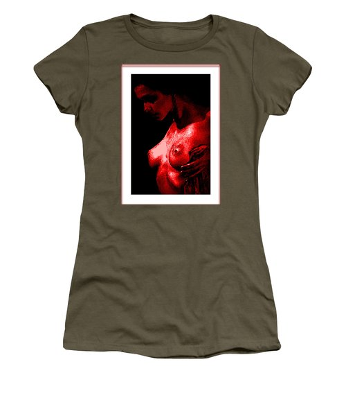 Breast In Color Women's T-Shirt (Junior Cut) by Tbone Oliver