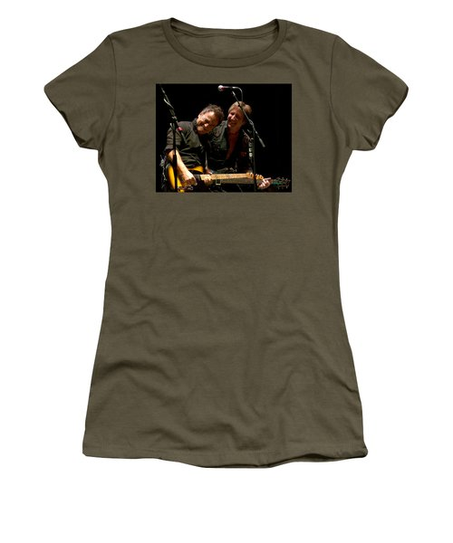 Bruce Springsteen And Danny Gochnour Women's T-Shirt (Athletic Fit)