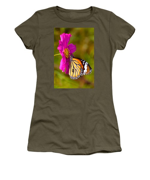 Butterfly II Women's T-Shirt (Athletic Fit)
