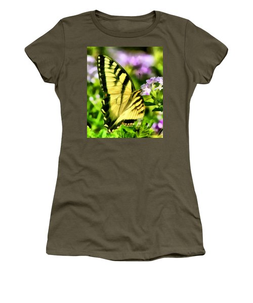 Butterfly Women's T-Shirt (Junior Cut) by Lynne Jenkins