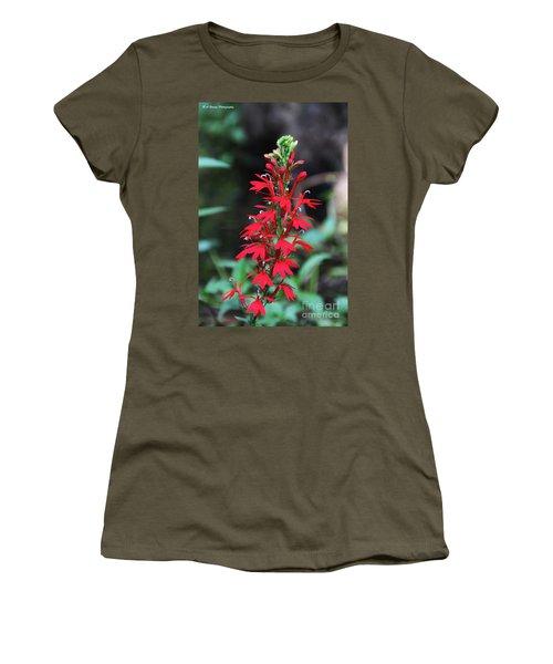 Cardinal Flower Women's T-Shirt