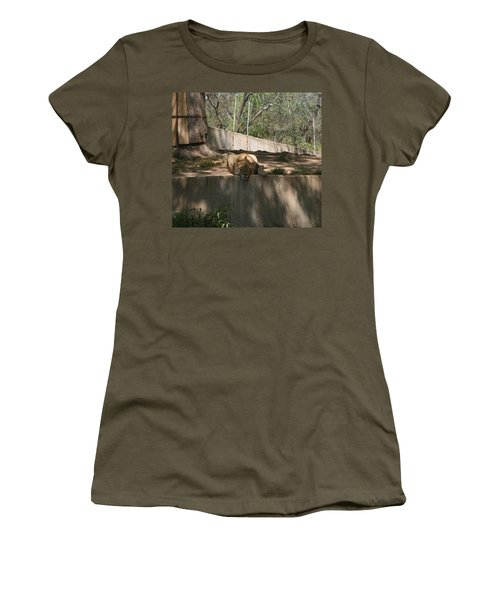 Women's T-Shirt (Junior Cut) featuring the photograph Cat Nap by Stacy C Bottoms
