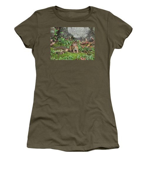 Chipmunk Women's T-Shirt (Athletic Fit)