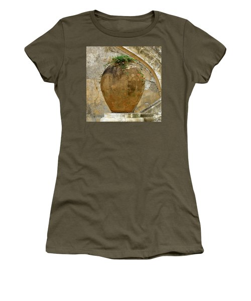 Women's T-Shirt (Junior Cut) featuring the photograph Clay Pot by Lainie Wrightson