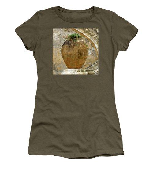 Clay Pot Women's T-Shirt (Junior Cut) by Lainie Wrightson