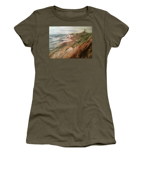 Cliff Side - Newport Women's T-Shirt (Athletic Fit)