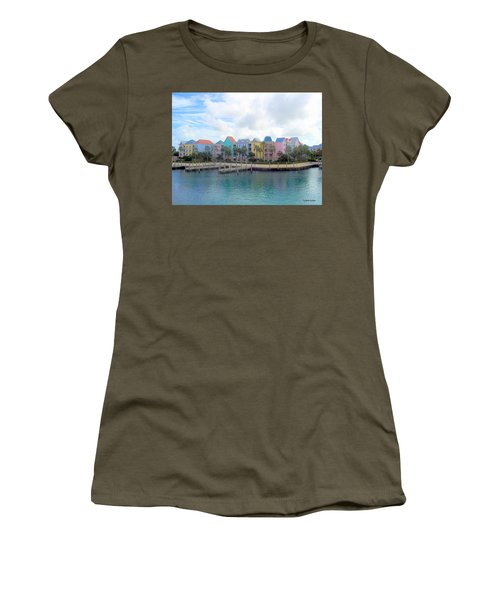 Women's T-Shirt featuring the photograph Condo Living by Cynthia Amaral