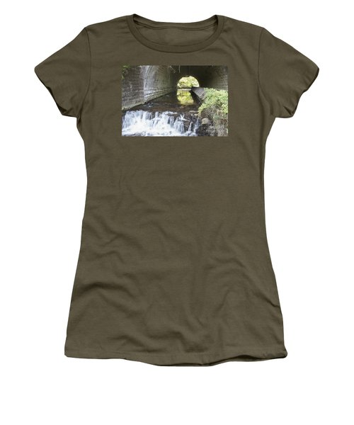 Women's T-Shirt (Junior Cut) featuring the photograph Corbetts Glen by William Norton