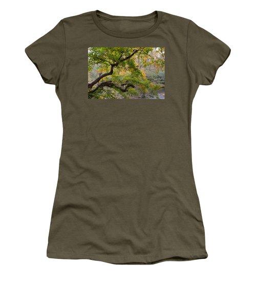 Crooked Limb Women's T-Shirt (Athletic Fit)