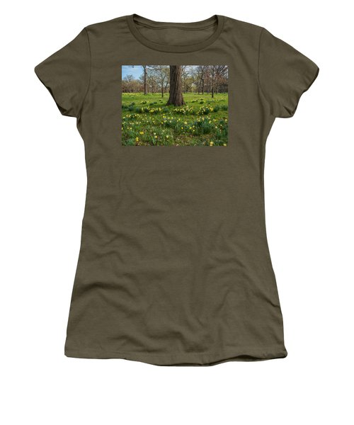 Daffodil Glade Number 2 Women's T-Shirt