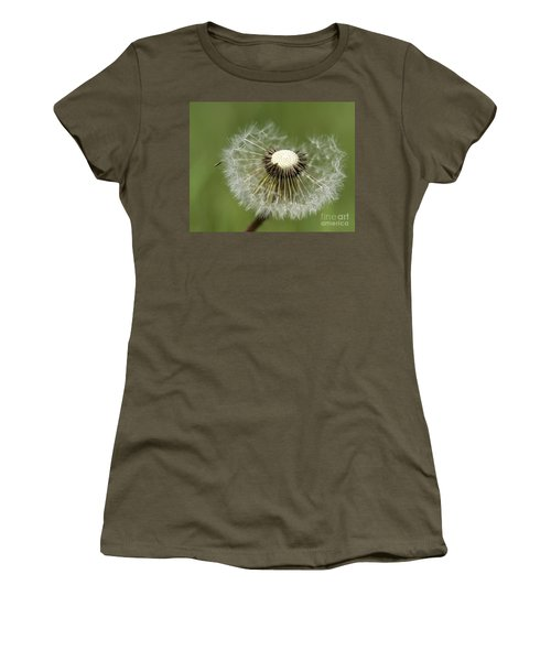 Dandelion Half Gone Women's T-Shirt (Junior Cut) by Teresa Zieba