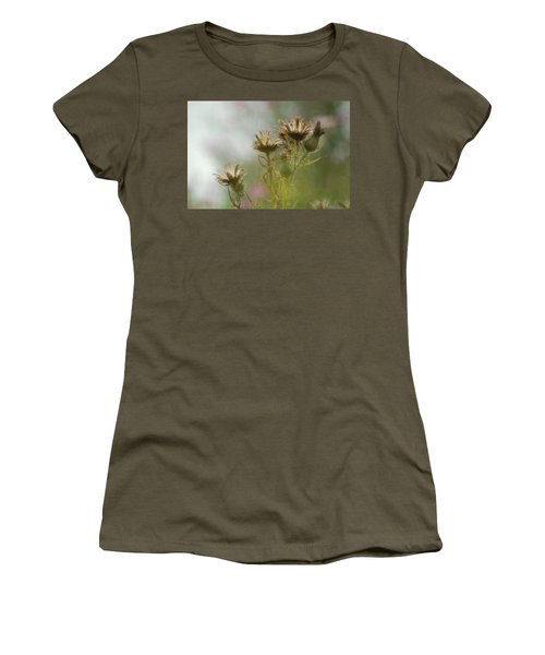 Women's T-Shirt (Junior Cut) featuring the photograph Delicate Balance by Tam Ryan